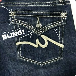 Anoname Bootcut Blingy Jeans